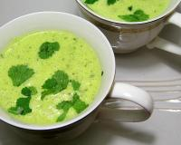 Avocado and Cilantro Soup Recipe