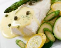 Baked Halibut