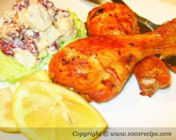 BBQ Roasted Chicken