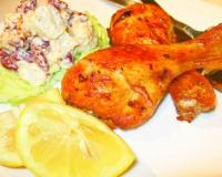 BBQ Roasted Chicken Recipe