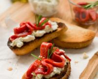 Bell Pepper Bruschetta Recipe
