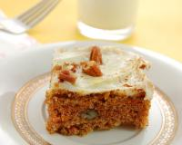 Carrot Cake with Cream Cheese Frosting Recipe