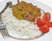 Celery Stew On Rice Recipe