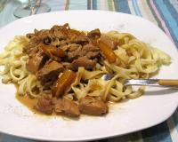 Chicken And Pasta With Orange Sauce Recipe