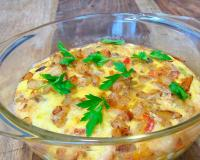 Chicken And Vegetables Frittata Recipe