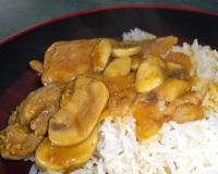 Chicken Mushroom Stew Recipe