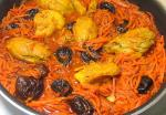 Chicken with Carrot and Dried Plum Stew