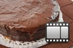healthy recipe for Chocolate Topped Sponge Cake