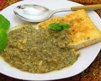 Fava Bean Omelet