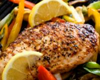 Grilled Chicken Breast and Vegetables Recipe