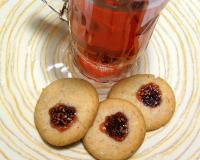 Jam Filled Hazelnut-almond Cookie Recipe
