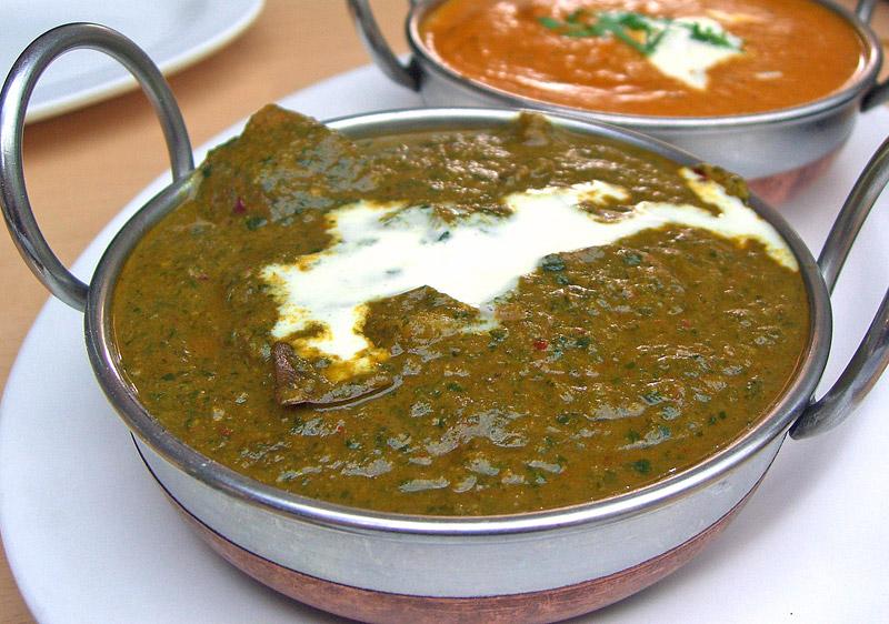 Indian Food Recipes Lamb Saag