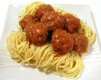 Meatballs With Tomato Sauce Recipe