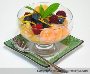 Mixed Fruit Dessert