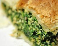 Montgomery and Spinach Pie