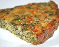 Mushroom And Spinach Quiche Recipe