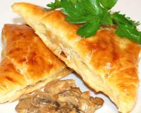 Mushroom Triangles Recipe