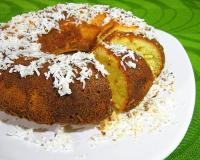 Orange Coconut Pound Cake Recipe