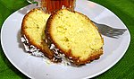 Orange Coconut Pound Cake