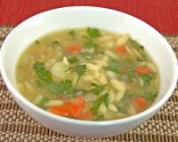 Orzo soup Recipe
