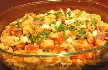 Pasta Salad with Chicken and Roasted Vegetables