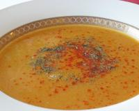 Red Lentil Vegetable Soup Recipe