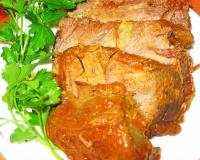 Roast Beef With Garlic Recipe