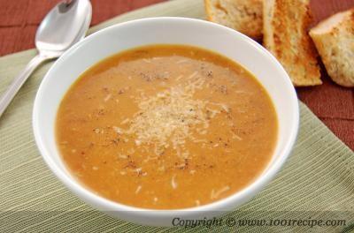 Roasted Garlic and Tomato Soup Recipe