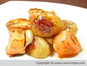 Easy healthy recipes blog oven roasted nugget potatoes and yams forumfinder Choice Image