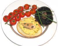 Scrambled Eggs With Smoked Salmon Recipe