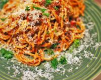 Spaghetti with Meat and Tomato Sauce Recipe
