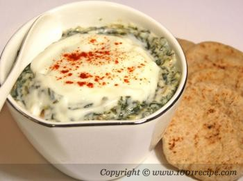 Spicy Spinach and Yogurt Dip