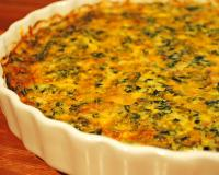Spinach Quiche Recipe
