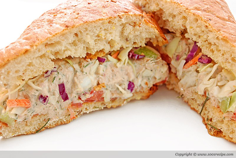 Tuna salad sandwich Photo