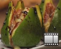 Warm Figs with Cambozola and Balsamic Recipe