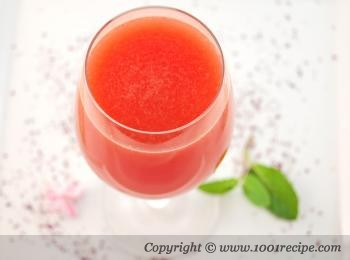 Watermelon and Rosewater Drink